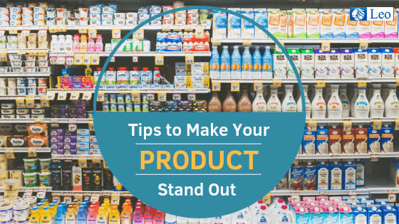make your products stand out on shelf